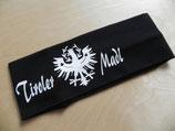 Tiroler Madl Adler schwarz/weiss