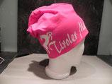 Tiroler Madl Hirsch pink/weiss