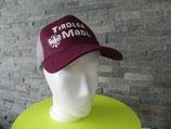 Trucker Tiroler Madl/Adler weinrot,grau/weiss