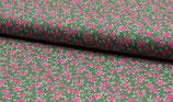 MNM Blumenmuster lindgrün/bunt