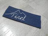 Tiroler Berg Baby nachtblau weiß