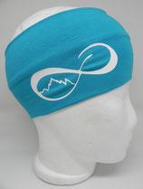 Headband UnendlichBerge türkis