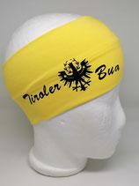 Stirnband Tiroler Bua gelb
