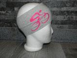 Roadbike hellgrau/pink