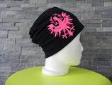 Adler schwarz/pink