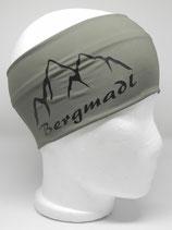 Funktionsstirnband Bergmadl khaki/schwarz