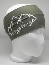 Funktionsstirnband Bergsteiger khaki/weiss