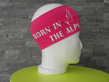 Born in the Alps pink/weiß
