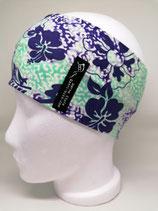 Funktionsstirnband Hawaii violett mint