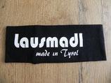 Lausmadl made in Tyrol schwarz/weiß