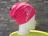 Beanie Skitour pink/weiß