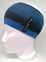 Verwaschene Streifen nachtblau schwarz