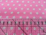 MNM Sterne rosa/weiß