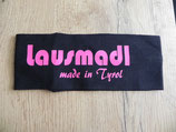 Lausmadl made in Tyrol schwarz/pink