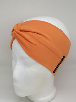 Turbanstirnband Uni orange