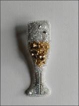 Broche Coupe de champagne V2