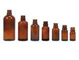 Braunglasflasche ohne Verschluss