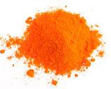 Lebensmittelfarbe Orange, Pulver