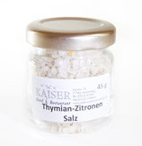 Thymian-Zitronen-Salz