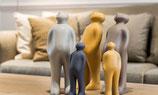 The Visitor LARGE  sandfarben und braun