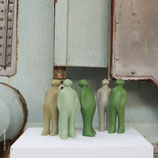The Visitor SMALL - grün bis blau