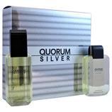 Perfume Quorum Silver SET (Estuche) by Antonio Puig CAB