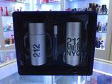 Set de Perfume Carolina Herrera 212 100ml CABALLERO