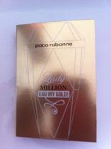 Muestra Lady Million Eau Gold Paco Rabanne DAM