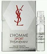 Muestra YSL LHomme Sport CAB