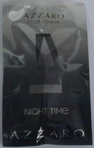Muestra Night Time Azzaro CAB