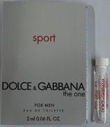 Muestra Dolce and Gabbana Sport CAB