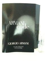 Muestra Armani Code CAB