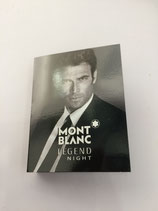 Muestra Mont Blanc Legend Night CAB