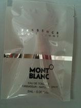 Muestra Presence Mont Blanc DAM