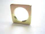 2 farbiger Gold Ring