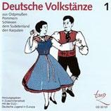 CD Deutsche Volkstänze 1 (inkl. TB im Booklet)