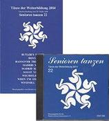Senioren tanzen 22 / Weiterbildung 2014 (Set CD mit Heft)