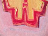 "Acrylic on canvas, ca. 80cm x 75cm (32"" x 30"")"