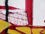 "Acrylic on canvas, ca. 83cm x 74cm (33"" x 29"")"