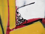 "Acrylic on canvas, 122cm x 46cm (48"" x 18"")"