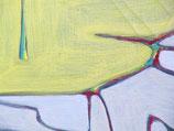 "Acrylic on canvas, ca. 40cm x 85cm (16"" x 34"")"