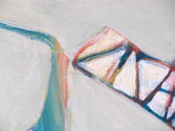 "Acrylic on canvas, 100cm x 80cm (39"" x 31"")"