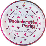 Bachelorette Party Plates 10 inch
