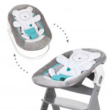 Hauck babyaufsatz Bouncer 2 in 1 Hearts grey