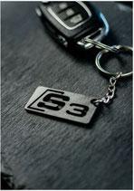 Audi S3 Schlüsselanhänger Carbon