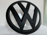 VW T5 Emblem Front in Schwarz Matt