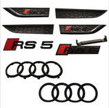 Audi RS5 BLACK Edition Set