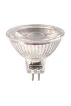 Calex LED Reflektorlampe, 3 Watt, 30°, 12 Volt, MR16