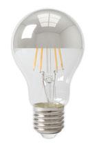 Kopfspiegellampe dimmbar, 4 Watt, 2300 Kelvin,  E27 A60