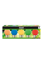 Calex LED Farbmix Lampen 5 Stück, 1 Watt, 220-240 Volt,  E27